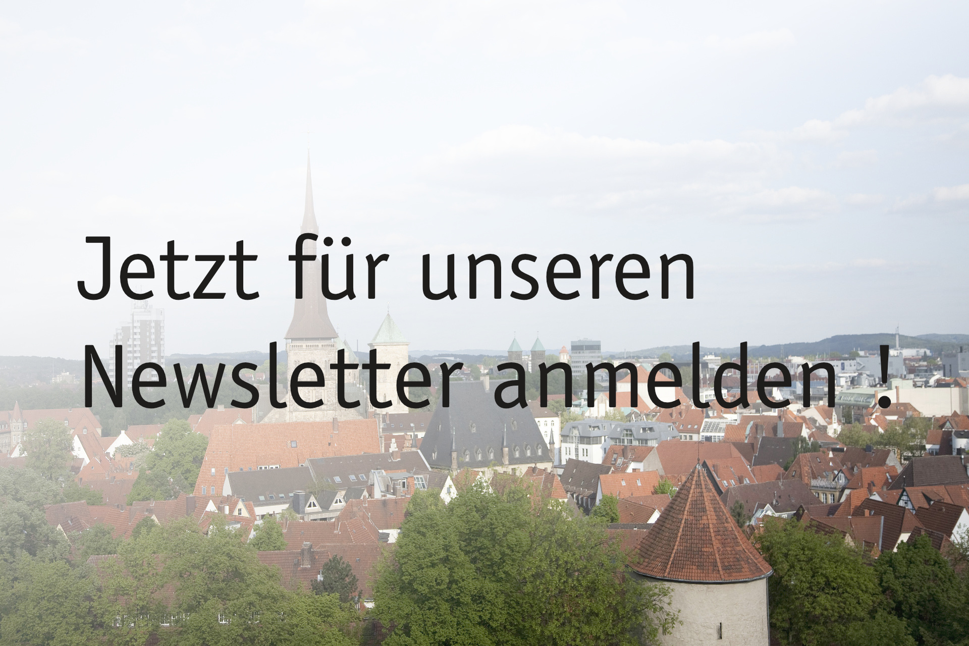 Baukultur -  Newsletter
